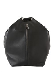 Mm6 Di Maison Margiela Smooth Leather Backpack