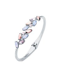Jenny Packham Rose Opal Bangle Bracelet Pink