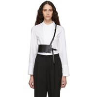 Ann Demeulemeester Black Kenya Harness Belt