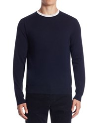 Vince Regular Fit Wool And Cashmere Sweater Coastal Falcon Red
