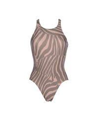 Adidas By Stella Mccartney Adidas By Stella Mccartney Swimwear Performance Wear Women Dove Grey