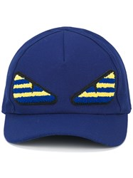 Fendi Bag Bug Cap Blue