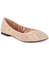 Zigi Soho Tilly Rhinestone Flats Women's Shoes Cinnamon