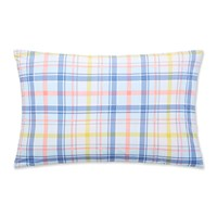 Joules Whitstable Floral Check Pillowcase