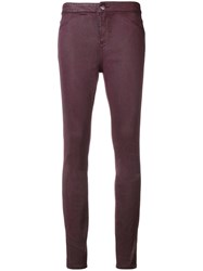 Armani Exchange Skinny Jeans Pink And Purple