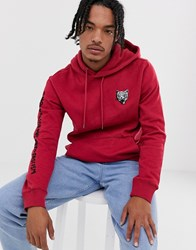 Volcom Shoots Pull Over Hoodie Red