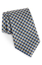 Nordstrom Men's Men's Shop Plaid Silk Tie Yellow