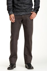 Agave Waterman Relaxed Cut Flannel Straight Leg Pant Brown