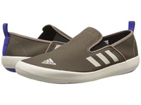 Adidas Outdoor Boat Slip On Dlx Grey Blend Clear Brown Night Flash Men's Shoes Olive