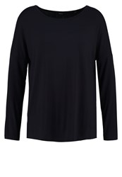 Opus Stine Long Sleeved Top Reliable Blue