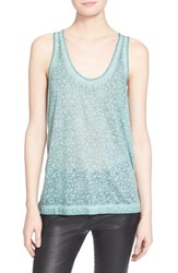 Women's Zadig And Voltaire 'Devore' Burnout Tank