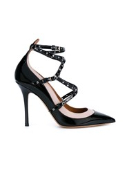 Valentino Garavani 'Love Latch' Pumps Black