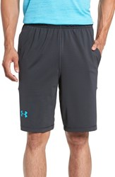 Under Armour Men's 'Raid' Heatgear Loose Fit Athletic Shorts Anthracite
