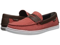 Cole Haan Pinch Weekender Poppy Chestnut Textile Men's Slip On Shoes Red