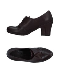 Audley Lace Up Shoes Dark Brown