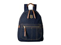 Tommy Hilfiger Esme Backpack Denim Backpack Bags Blue