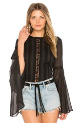 The Jetset Diaries Amorie Top Black
