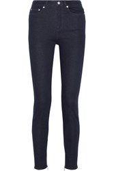 Blk Dnm 8 High Rise Skinny Jeans Blue