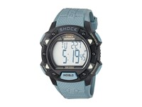 Timex Expedition Base Shock Resin Strap Blue Black Watches