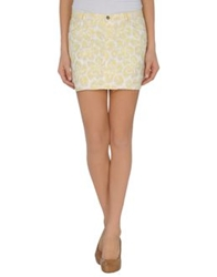 Gryphon Mini Skirts Yellow