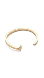 Giles And Brother Skinny Railroad Spike Cuff Gold