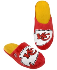 Forever Collectibles Men's Kansas City Chiefs Big Logo Slippers