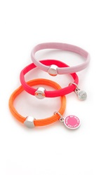 Marc By Marc Jacobs Colored Classic Marc Cluster Ponies Neon Orange Multi