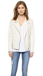 Bb Dakota Dakota Collective Nia Moto Jacket White