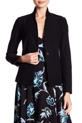 Eileen Fisher Solid Stretch Blazer Petite Black