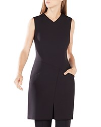 Bcbgmaxazria Phoeby Asymmetric Tunic Top Black