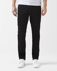 Element Faded Black Tapered Fit Stretch Desoto Jeans