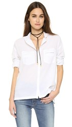 Zadig And Voltaire Turn Shirt Blanc