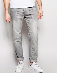 Pull And Bear Pullandbear Slim Jeans In Grey Grey