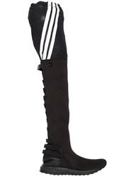 Y 3 Zazu Neoprene Boost Over The Knee Boots