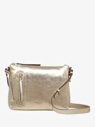 Radley Taylor's Court Leather Medium Cross Body Bag Pyrite