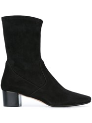Unutzer Almond Toe Boots Black