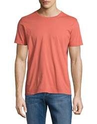 Brooks Brothers Short Sleeved Pullover Tee Dark Pink