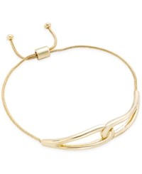 Charter Club Gold Tone Knot Slide Bracelet Only At Macy's