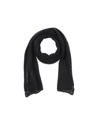 Jucca Oblong Scarves Black