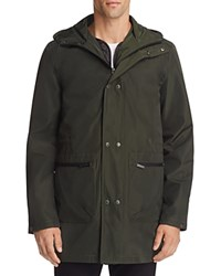 Native Youth Squadron 3 In 1 Hooded Jacket Dark Green