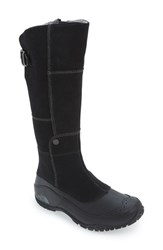 The North Face Women's 'Anna Purna' Waterproof Boot Black Zinc Grey