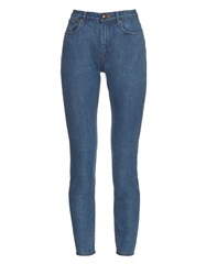 A.P.C. High Rise Skinny Jeans