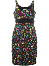 Moschino Flower Power Dress Black