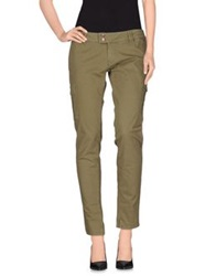 Jcolor Casual Pants Military Green