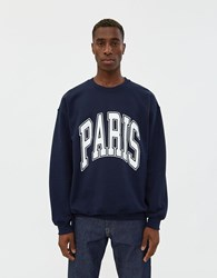 Noon Goons All City Paris Crewneck Sweatshirt Navy