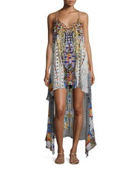 Camilla Embellished High Low Coverup Dress Echoes Of Engai Echos Of Engai