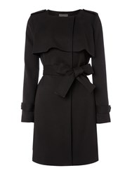 Pied A Terre Full Skirted Mac Black