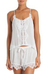 In Bloom By Jonquil Women's Lace Short Pajamas