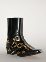 Dsquared Lvr Exclusive Leather Boots Black