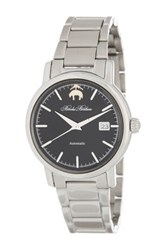 Brooks Brothers Men's Core Collection Automatic Bracelet Watch Metallic